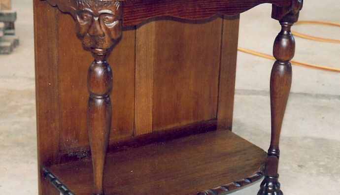 Carved Hall Table 14