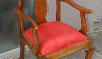 Queen Anne Arm Chair 3