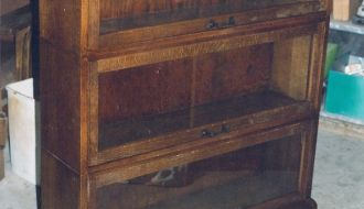 oak stacking bookcase 42