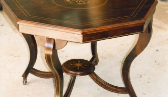 Inlaid Parlor Table 4