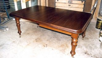 Victorian Extended Dining Table 48